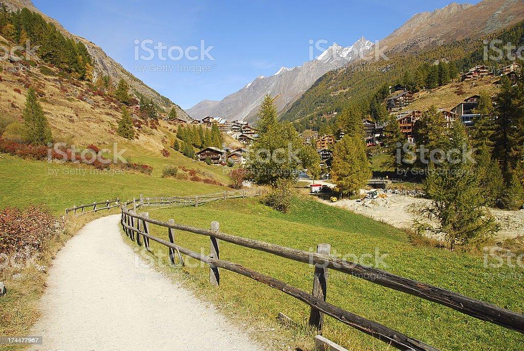 Zermatt Switzerland royalty-free stock photo