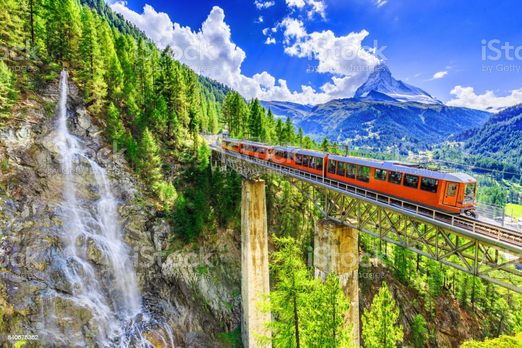 Zermatt, Switzerland. stock photo