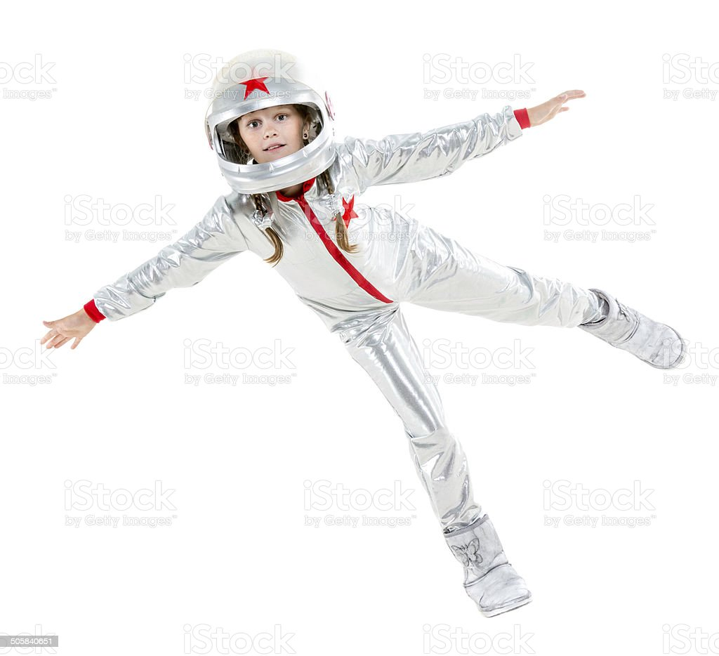 Zero gravity flight stock photo