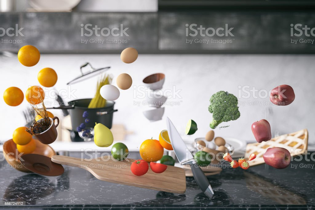 Zero Gravity dans cuisine - Photo
