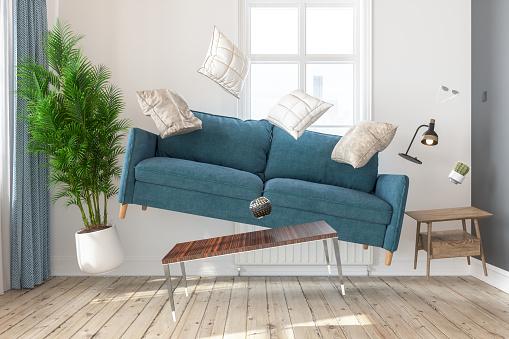 Zero Gravity Living Room