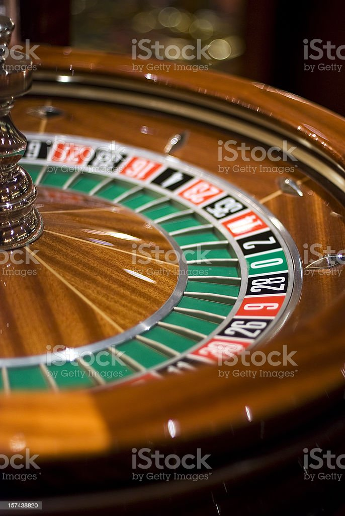 zero roulette stock photo