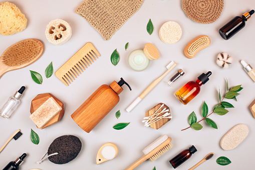 Zero Waste Selfcare Products Stock Photo - Download Image Now - iStock