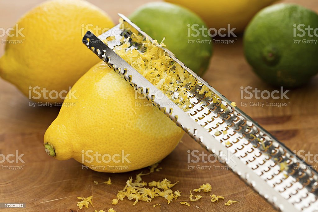 Zest, Lemons And Limes royalty-free stock photo