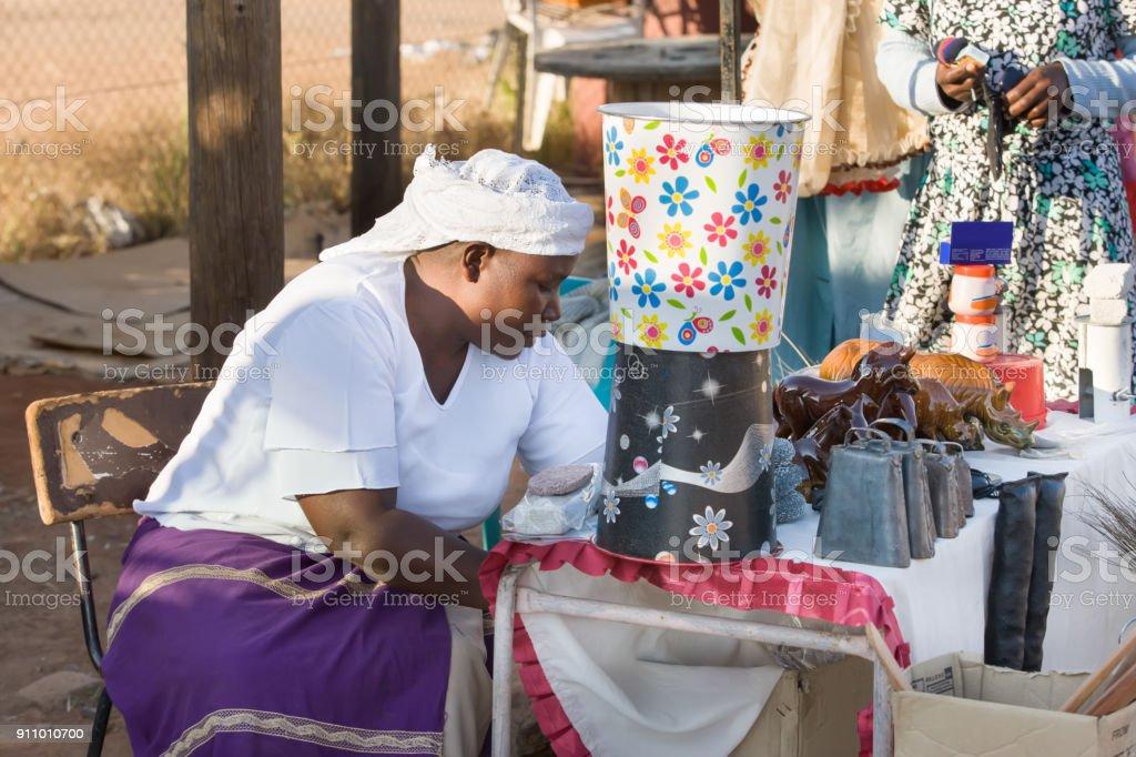 Zezuru African stock photo