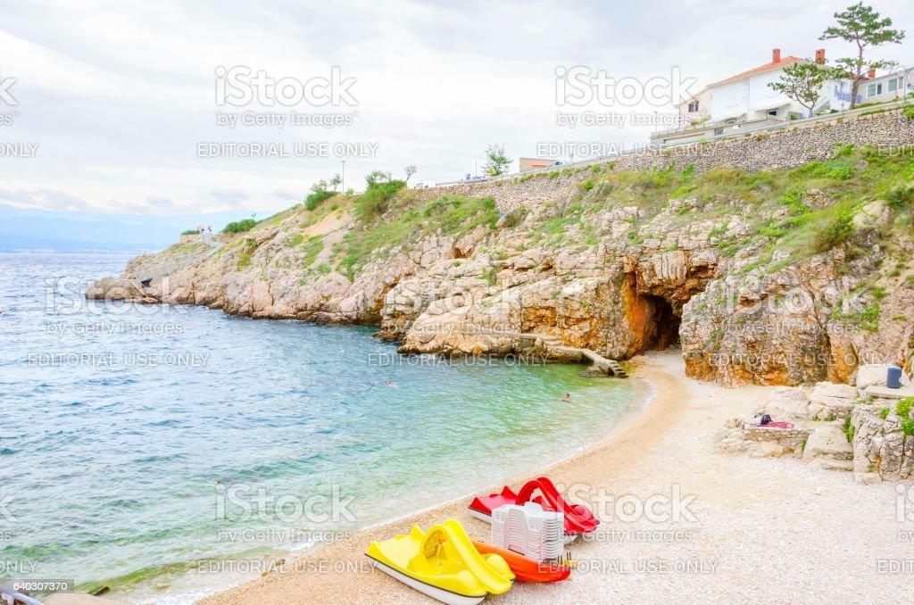 Zgribnica beach, Vrbnik, Krk, Croatia – Foto