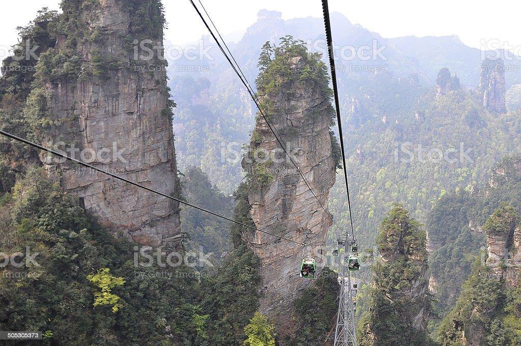 zhangjiajie national park china stock photo