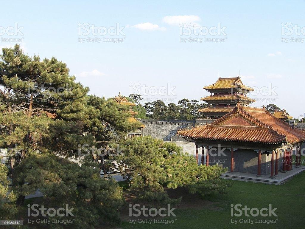 zhaoling park stock photo