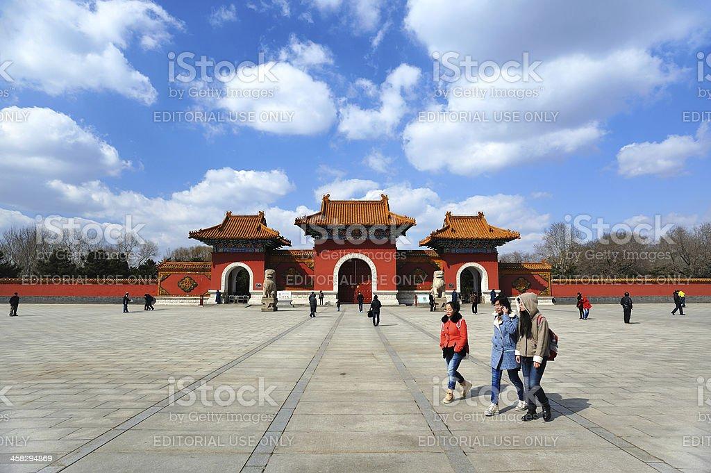 Zhaoling Tomb stock photo