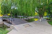 中山公園の陰チュアン、中国、寧夏回族自治区