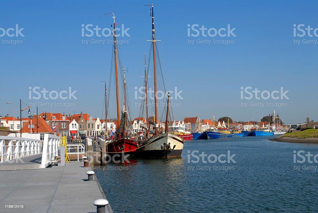 Zierikzee,an old town in Zeeland,Netherlands stock photo