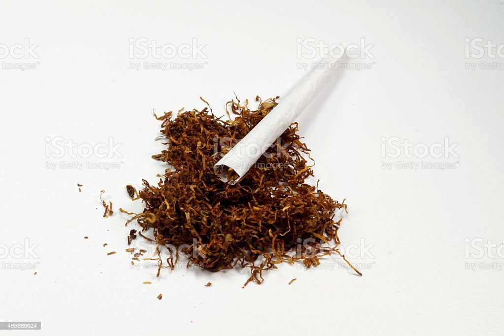 Zigarette stock photo