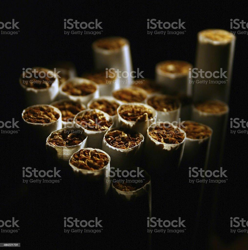 Zigaretten stock photo