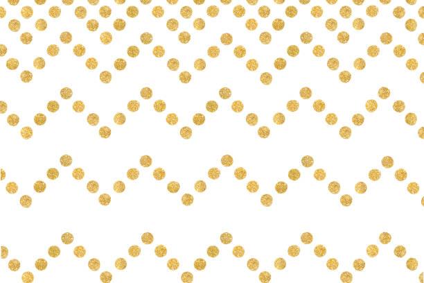Zigzag pattern paper cut background stock photo