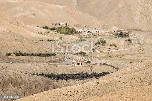 912120622 istock photo Zigzag road - jilabi road old route, Leh Srinagar Highway 638199360