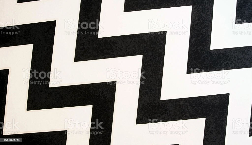 Zig-zag rayado transparente de fondo. Estilo retro. Plantilla de papel pintado, embalaje, textil, tela. Fondo textura blanco y negro - foto de stock