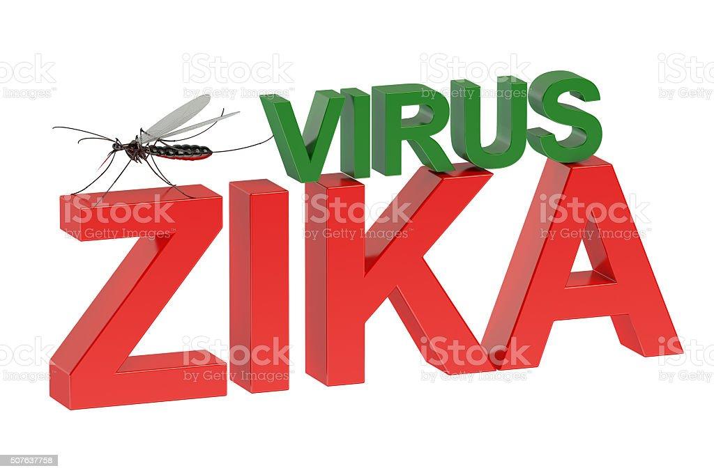 Zika virus concept stock photo