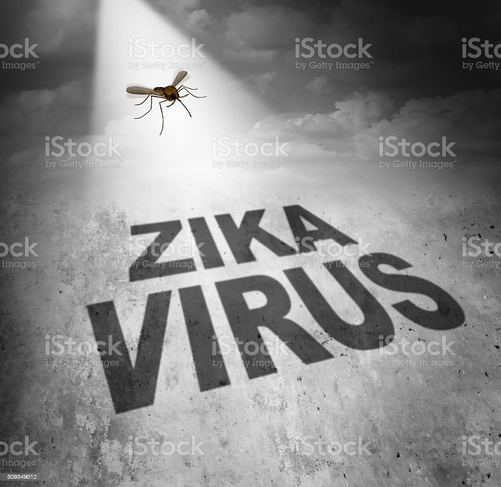 Zika Virus Risk stock photo