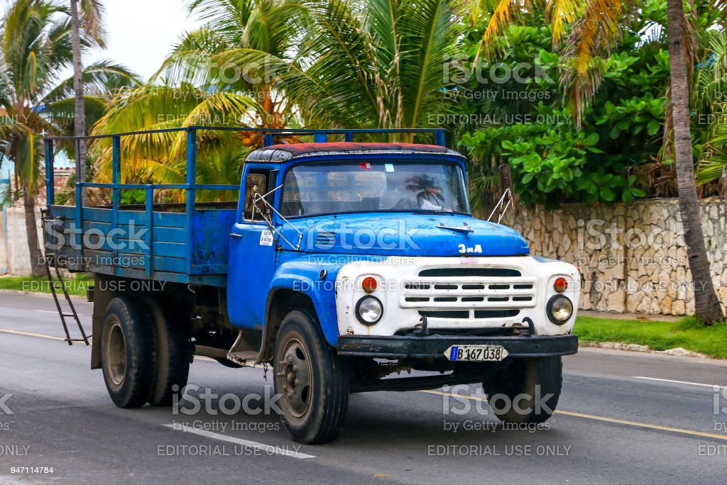ZiL 130 stock photo