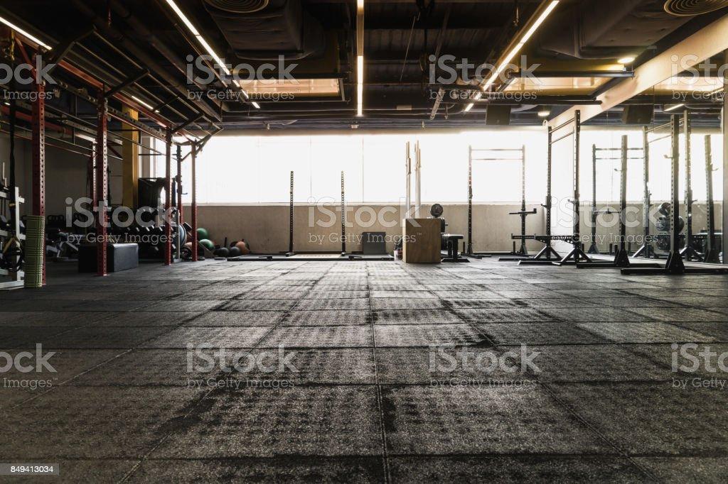estudio de exerccise de zilhouette foto de stock libre de derechos