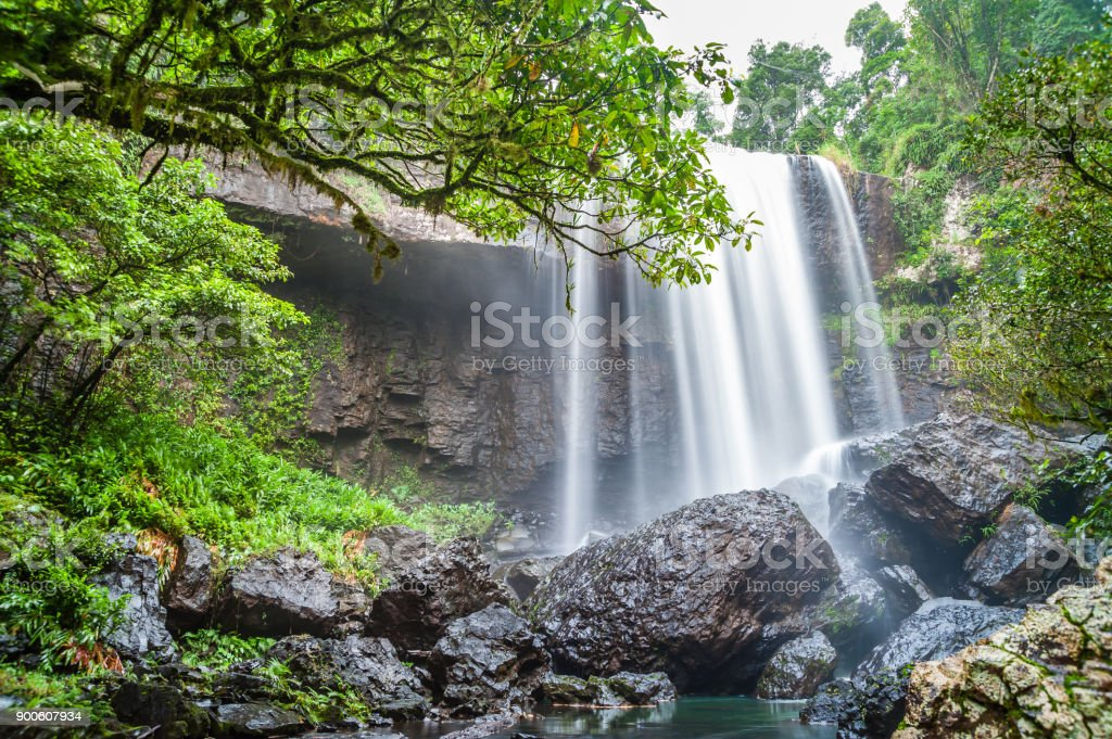 Zille Waterfalls stock photo