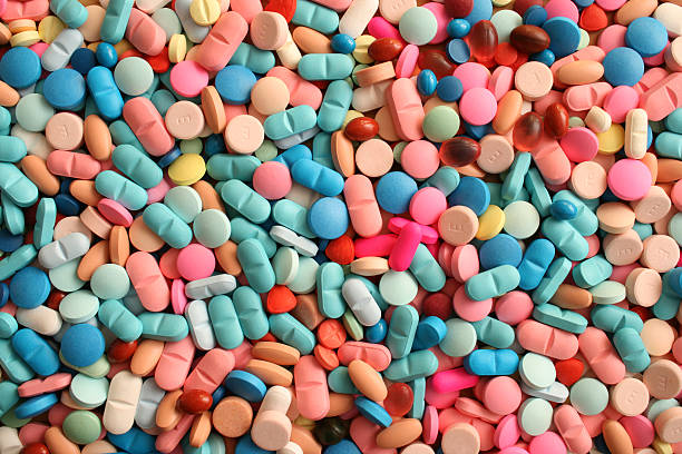 zillion pills - narcotic stock pictures, royalty-free photos & images