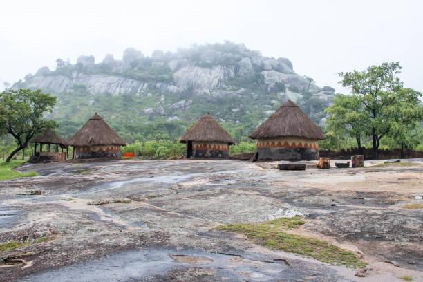 Zimbabwe: Traditional Village stock photo