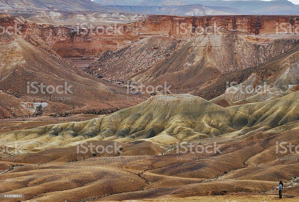 Zin Valley, Israel stock photo
