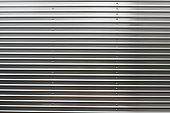 Zinc galvanized modern metallic sheet, gate texture, vertical texture