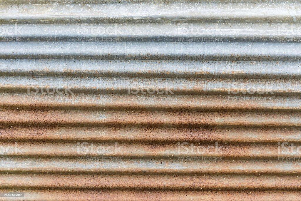 zinc industries plate rust stock photo