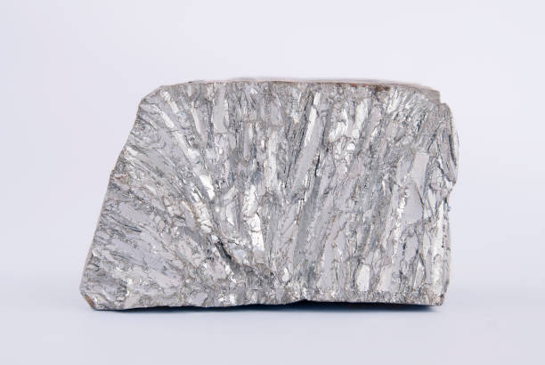 zinc mine nugget - nickel stock photos and pictures