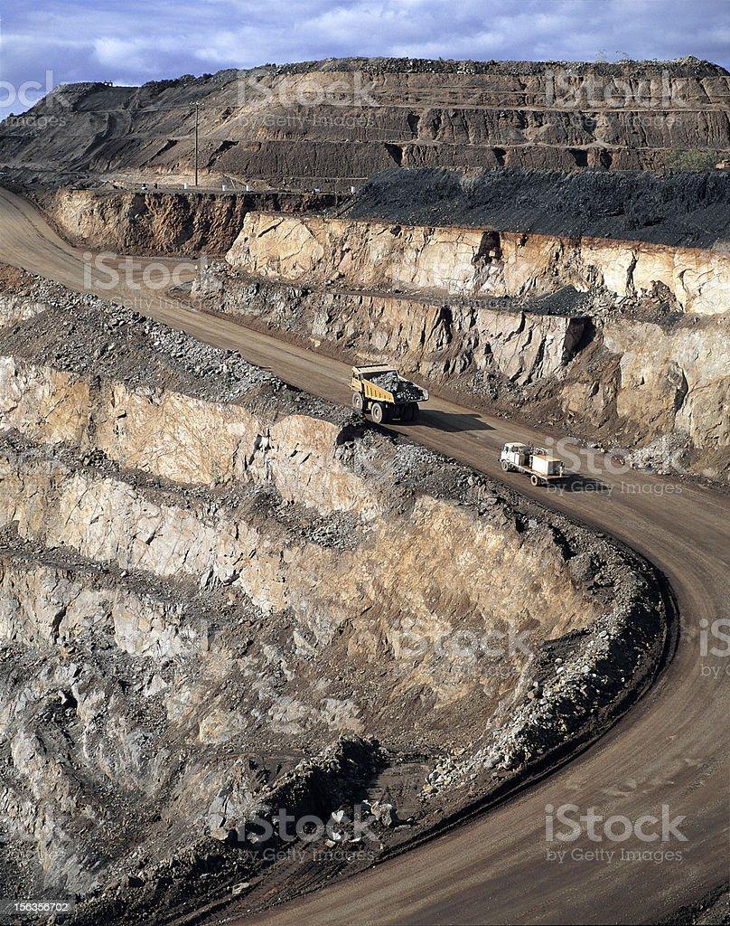 zinc mine royalty-free stock photo
