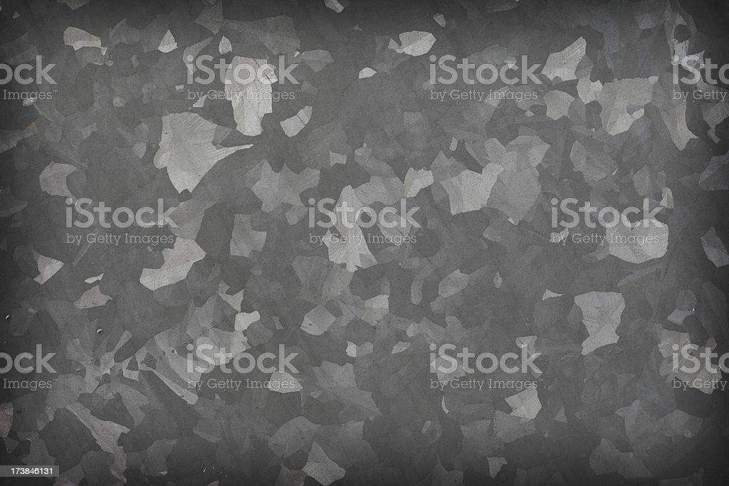 Zinc Panel stock photo