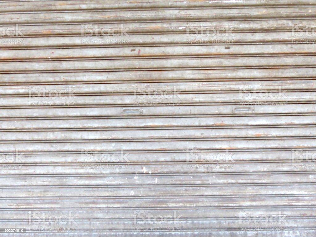Zinc plate brown - Zbiór zdjęć royalty-free (Abstrakcja)