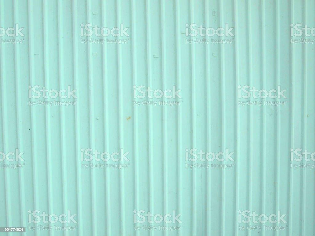 Zinc plate green royalty-free stock photo