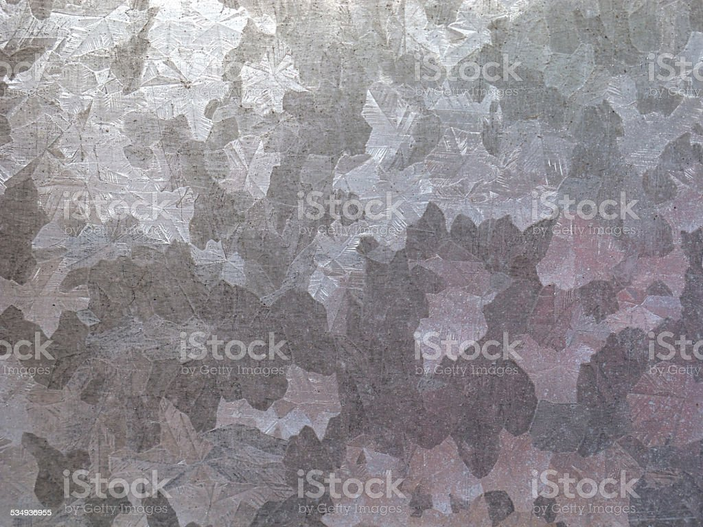 Zinc plate texture stock photo