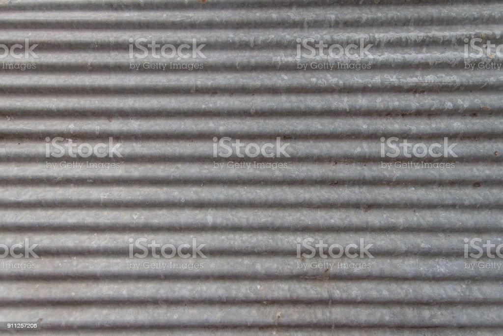 Zinc sheets texture background looks new stock photo