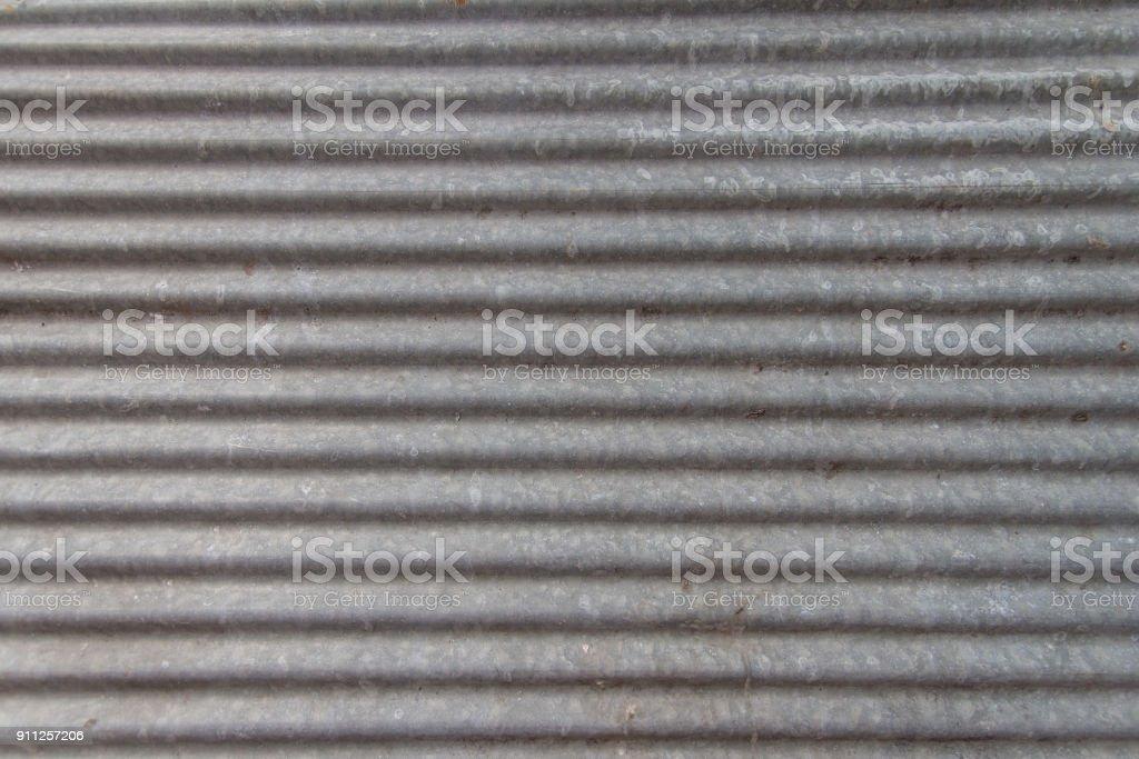 Fondo de textura de hojas de zinc parece nuevo - foto de stock