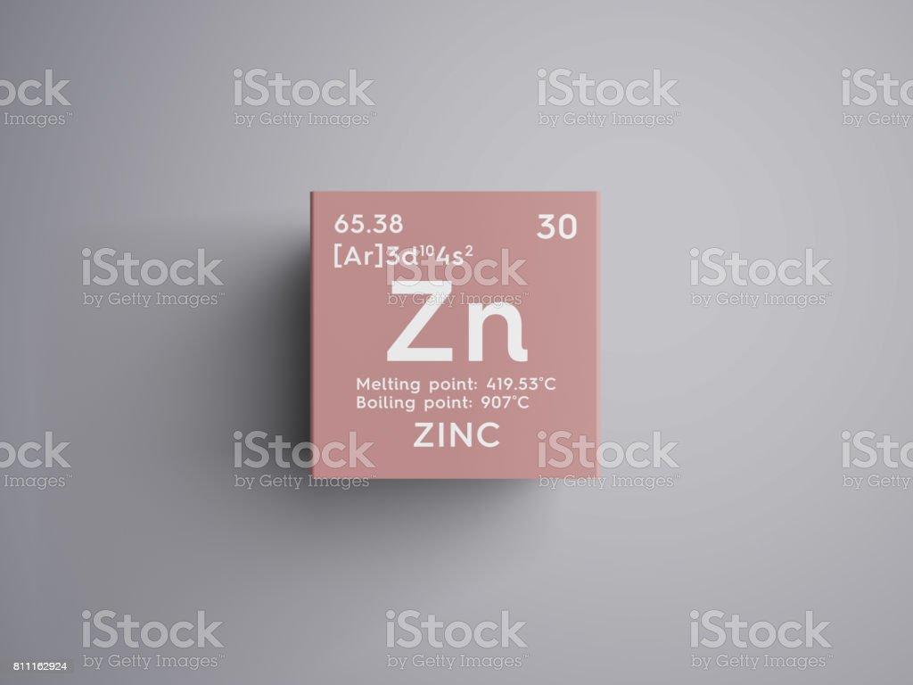 Fotografa de zinc metales de transicin elemento qumico de la zinc metales de transicin elemento qumico de la tabla de periodica de mendeleiev urtaz Images