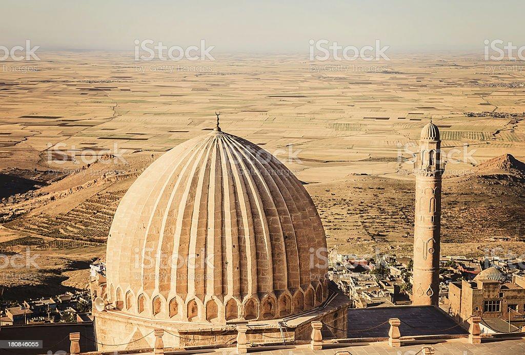 Zinciriye Madrasah - Mardin stock photo