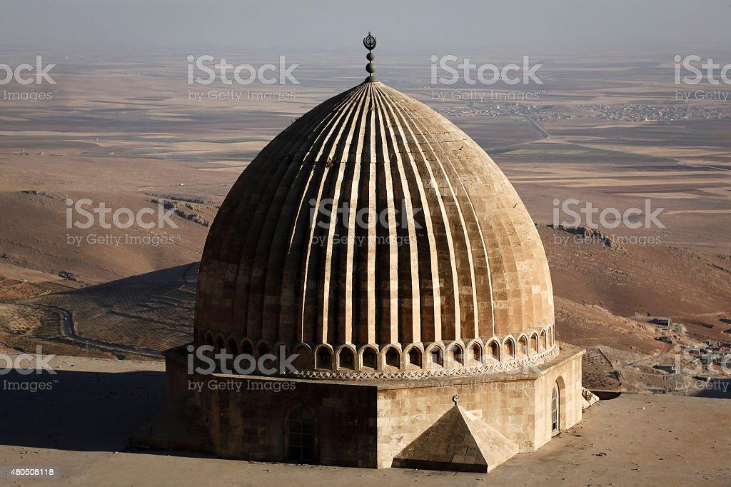 Zinciriye Madrasah, Mardin stock photo