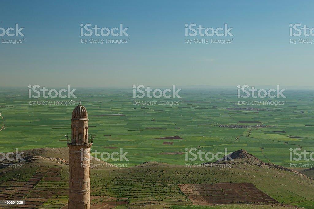 Zinciriye Madrasah, Mardin, Turkey stock photo