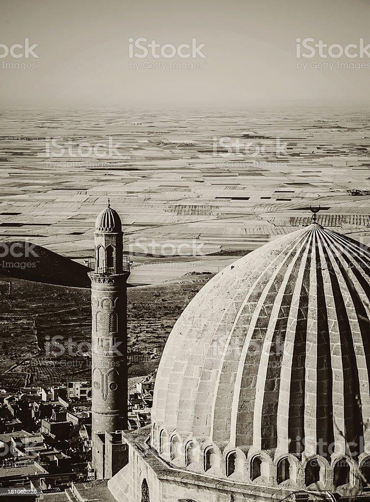 Zinciriye Madressa - Mardin stock photo