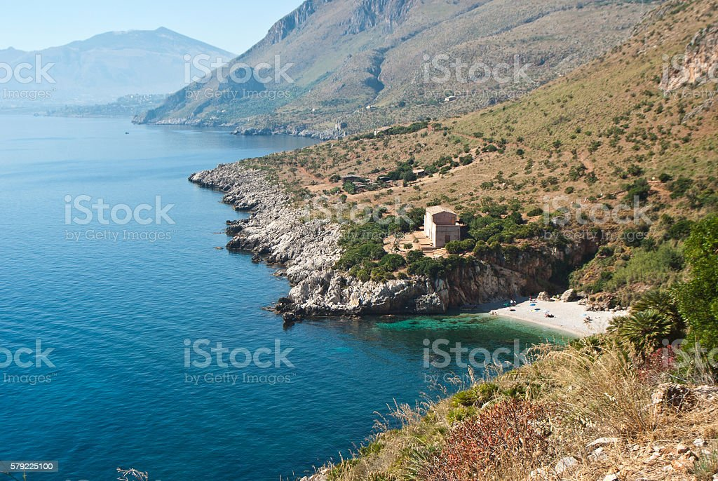 Zingaro Natural Reserve, Sicily, Italy - foto stock