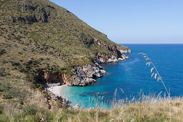 Zingaro Nature Reserve, Sicily, Italy stock photo