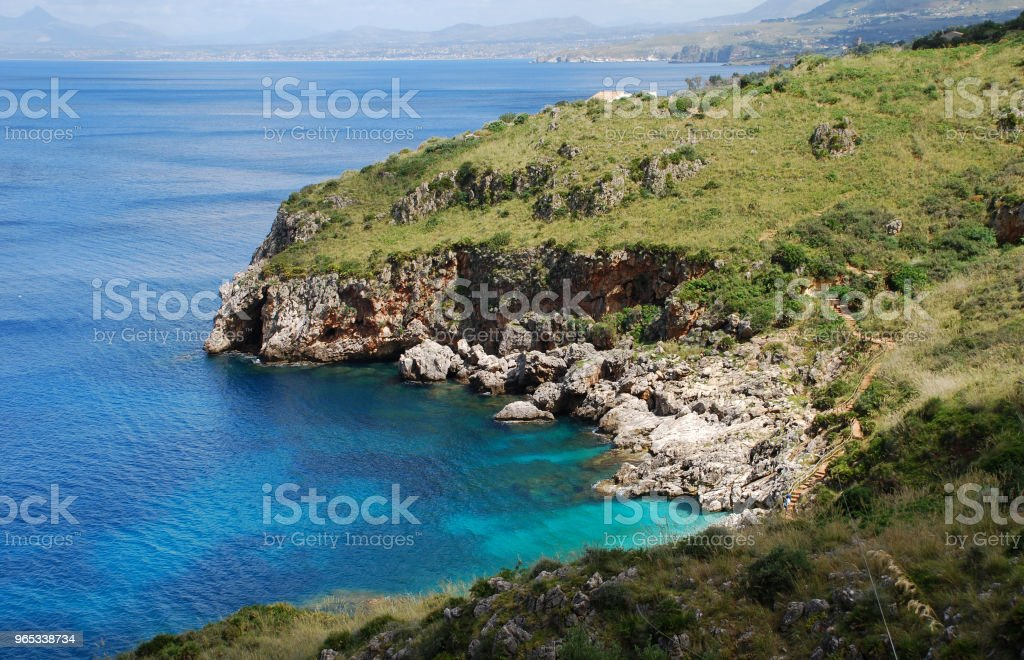 Riserva dello Zingaro royalty-free stock photo