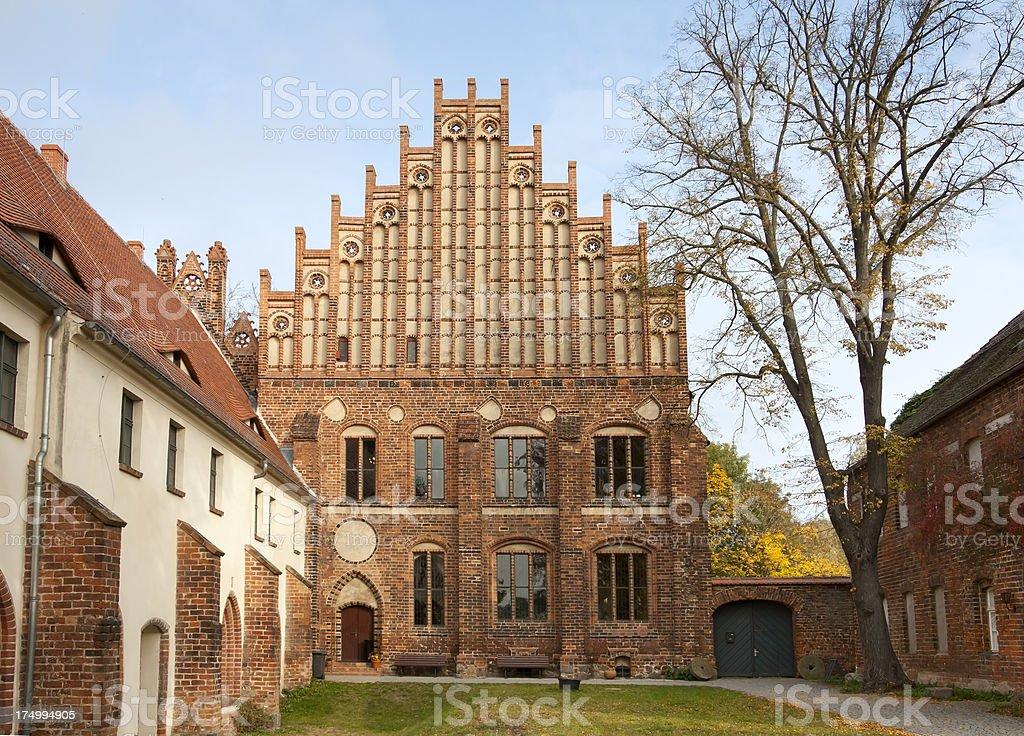 Zinna Abbey, Germany. stock photo