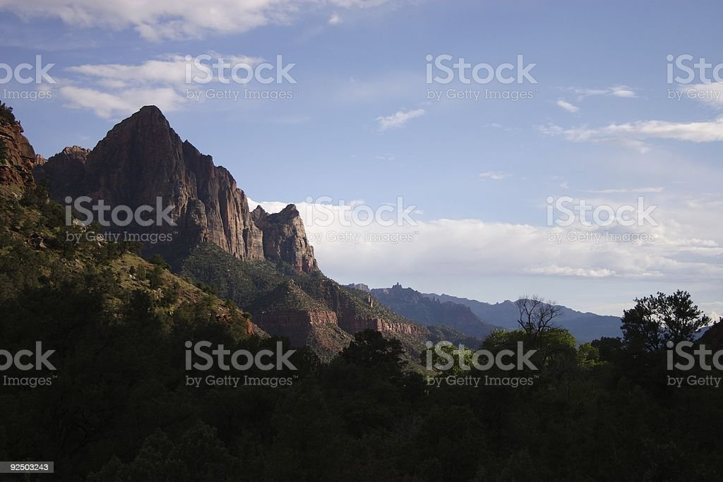 Zion National Park royalty-free stock photo