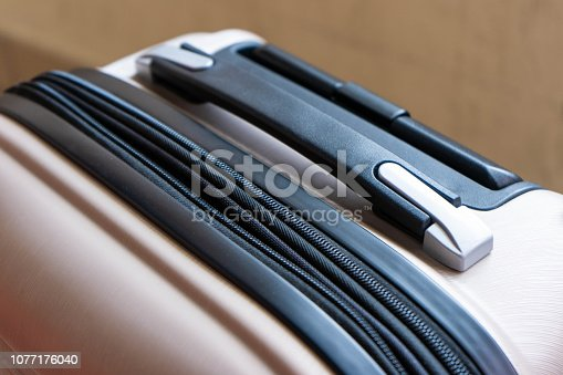 istock zip and lock on the baggage 1077176040