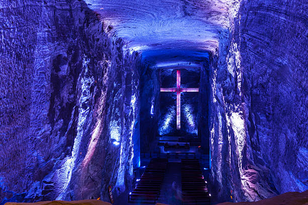 Kolumbien, Südamerika-die Catedral de Sal, Zipaquirá – Foto